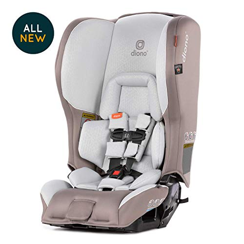 Diono Rainier 2AX Convertible Car Seat, Grey