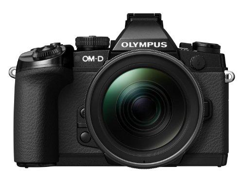 Digital Cameras OLYMPUS EM1 BLACK 16MPIXELS KIT 12-40MM