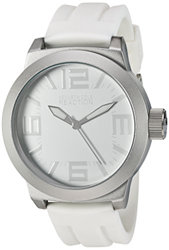Kenneth Cole REACTION Unisex RK1225 Classic Oversized Round Analog Field Watch