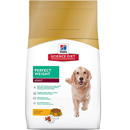 Hill's Science Diet Perfect Weight Dry Dog Food, 15-Pound...