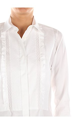 Blanco Camisas Algodón Valentino JB3AB02E1F50BO Blanco Mujer q6wIyx5F