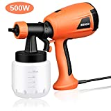 Best Electric Paint Sprayers - Paint Sprayer, Hvlp Electric Spray Gun with Three Review