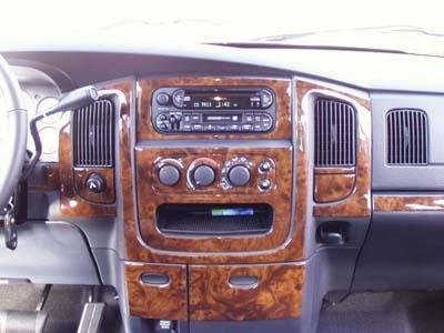 Dodge Ram 1500 2500 3500 Interior Wood Dash Trim Kit Set 2002 2003 2004 2005 Buy Online In Uae