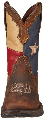 Durango Hoved Vest Texas Flag Damer Os 8 Brune Vestlige Støvler Uk 6 vSnFU