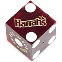 Pair (2) of Official 19mm Casino Dice Used at Harrah's Casino by Brybelly