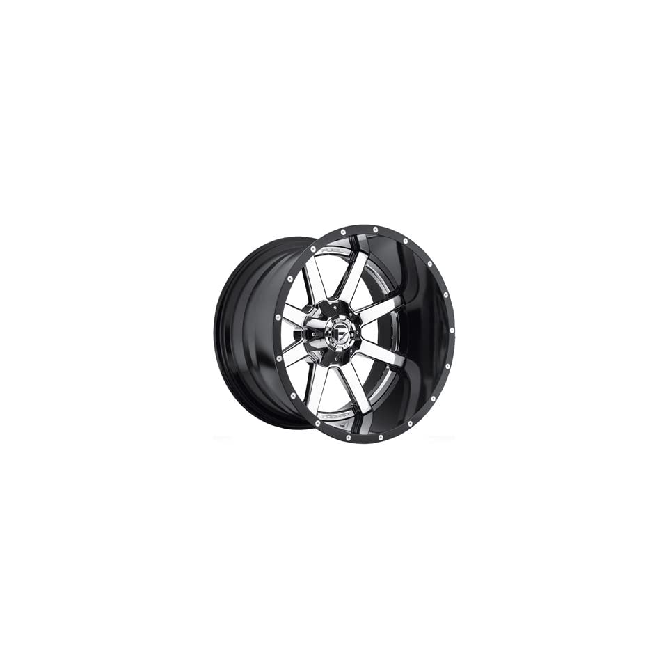 Fuel Maverick 20 Chrome Wheel / Rim 8x170 with a  19mm Offset and a 125.2 Hub Bore. Partnumber D26020001747