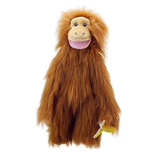 The Puppet Company - Medium Primates - Orangutan Toy, Brown