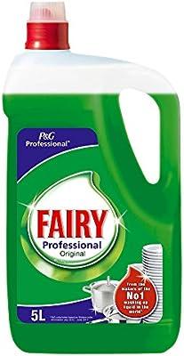 Fairy - Professional Original - Líquido lavavajillas a mano 5 ...