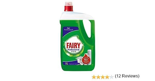 Fairy - Professional Original - Líquido lavavajillas a mano 5 litros - Pack de 2 (Total 10 litros): Amazon.es: Salud y cuidado personal
