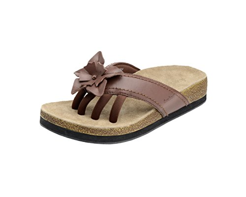 Wellrox Women's Terra-Chloe Chocolate Casual Sandal 10