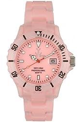 Toy Watch Flo Time Pink Dial Women's Watch - TY-FLP05PK