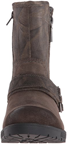Clarks Women's Faralyn Rise Boot, Green Khaki Suede