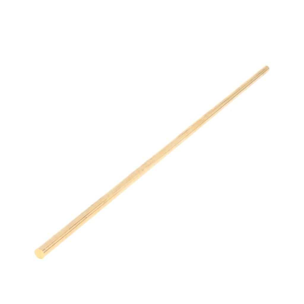 Homyl 10''/25cm Brass Round Bar Rod - Diameter 5mm, Abrasion-Resistant