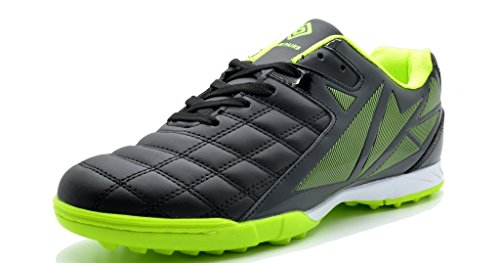 Image of DREAM PAIRS 151027-151028 Men's Sport Flexible Athletic Free Running Light Weight Outdoor Lace Up Soccer Shoes
