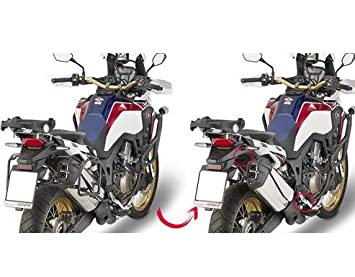 Black 40 Givi PLR1144/Rapid Side Cases and Steel Tube Removable