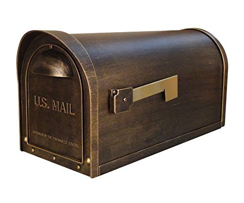 - Special Lite Products SCC-1008-BRZ Classic Curbside Mailbox, Hand Rubbed Bronze