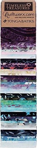 Timeless Treasures Judy Niemeyer Tonga Batiks Gypsy Heirloom 48 Piece Strip (Treasures Set)