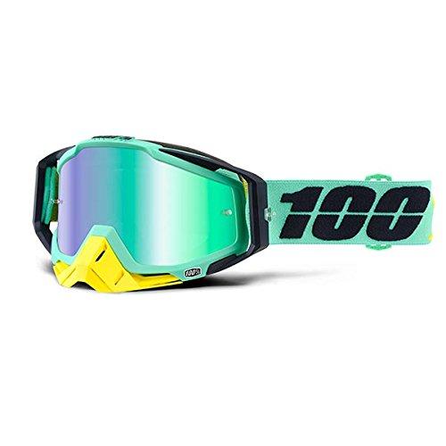 Inconnu 100/% Racecraft kloog m/áscara de Bicicleta de monta/ña Unisex Verde//Amarillo//Negro
