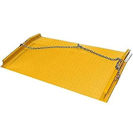 Aluminum Diamond-Plated Loading Dock Plate 48 x 48 2,388 lb Weight Capacity