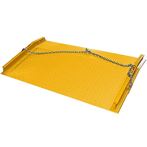 "Discount Ramps Diamond Plate Loading Dock Board 60"" x 60"""