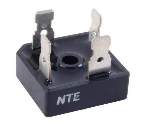 (NTE Electronics NTE5342 Silicon Bridge Rectifier, Single Phase, 40 Amps Average Forward Current, 600V Peak Reverse Voltage )