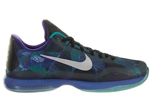 Rflct Glow crt Uomo Verde Multicolore Slvr Morado da Prpl Emrld Nike Gris X Kobe Scarpe Basket qFgFB7