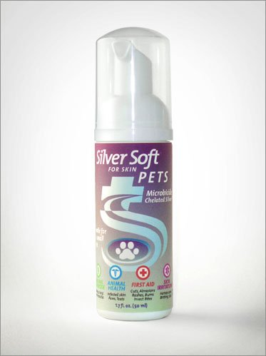 SilverSoft-Pets-Antiseptic-Foam-Dog-Cat-Bird-Pet-Care-for-Ears-Paws-Tails-Hot-Spots-Wounds-Itch-Flea