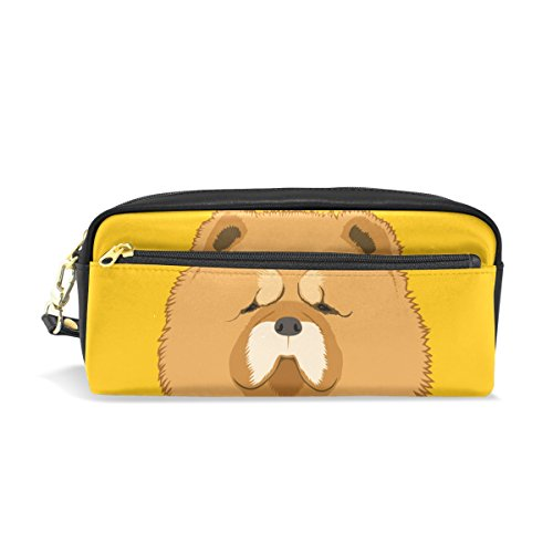 My Daily Chow Dog Pencil Case Pen Bag Pouch Coin Purse Cosmetic Makeup Bag