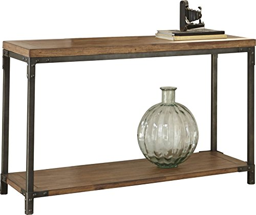 Amazon.com: Rustic Industrial Antiqued Console Sofa Table ...