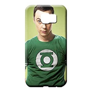 samsung galaxy s6 edge Ultra Shockproof Scratch-proof Protection Cases Covers mobile phone carrying covers big bang theory sheldon