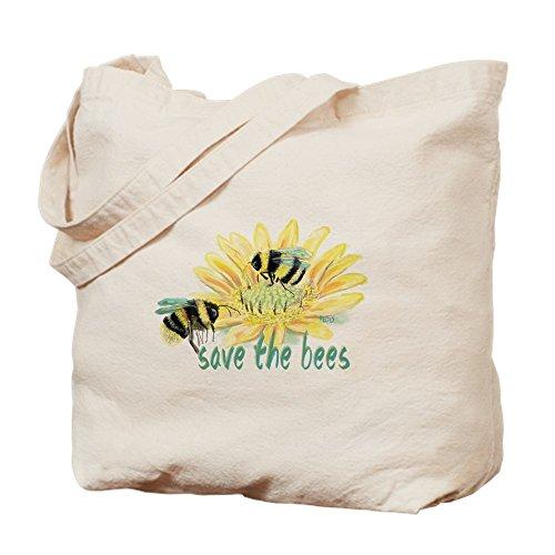 Cafepress Sac Kaki Taille Fourre The Toile Save Bees tout M tCxrRZtqw