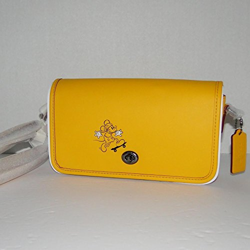 - COACH MICKEY Penny Crossbody in Glove Calf Leather with Mickey Banana