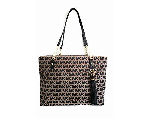 Michael Kors Woven Handbag - 6