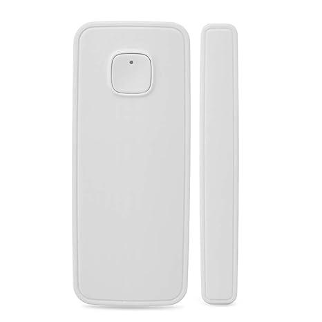 WiFi Smart - Detector de puerta y ventana con sensor magnético compatible con Alexa Echo,