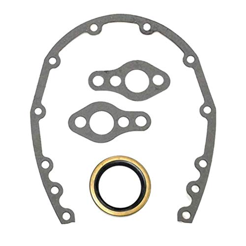 Pirate Mfg Small Block Chevy Timing Cover Gaskets and Seal SBC 283 327 350 383 Hot Rat Rod