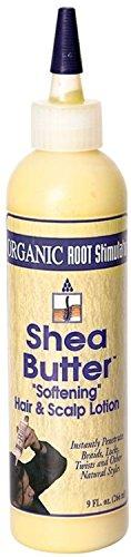 Namaste Organic Root Stimulator (Organic Root Stimulator Shea Butter Softening Hair & Scalp Lotion, 9 oz)