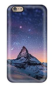 Protective Tpu Case With Fashion Design For Iphone 6 (matterhorn Mountain In Switzerland)