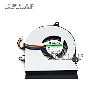 DBTLAP Ventilador de la CPU del Ordenador portátil para ASUS EEE PC UL30A UL30J UL30JT 1201T Ventilador más Fresco Controller heatsink Ventilador Q: ...