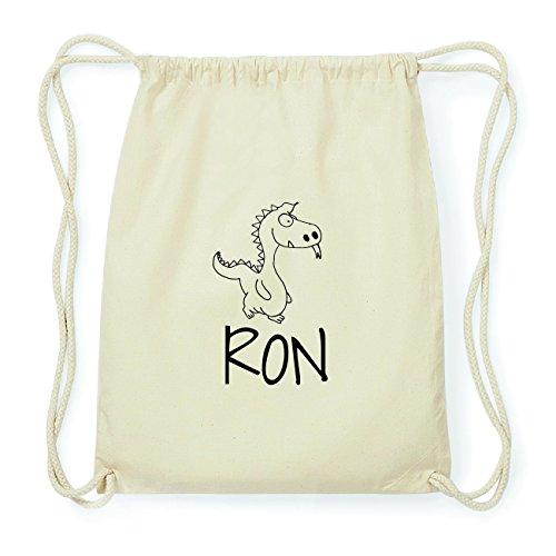 JOllipets RON Hipster Turnbeutel Tasche Rucksack aus Baumwolle Design: Drache