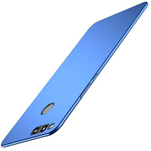 Coque Huawei Honor 7X,JEPER? Etui Dur PC Fini Mat Protection Intgrale Ultra Mince Anti-Rayures Anti-Choc Housse pour Telephone Huawei Honor 7X Case 5.93 Pouces Bleu