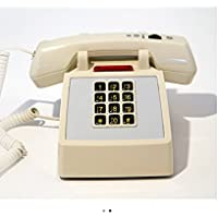 Medpat Amplified Traditional Desk Telephone With Light Cream Color