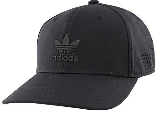 Amazon.com  adidas Men s Originals Tech Mesh Structured Snapback Cap ... b116ad096e81