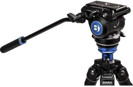 Benro A2573F Aluminum Single Tube Tripod with S4Pro Fluid Video Head