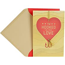 Hallmark Mahogany Valentine's Day Greeting Card for Husband (Hooked On You)