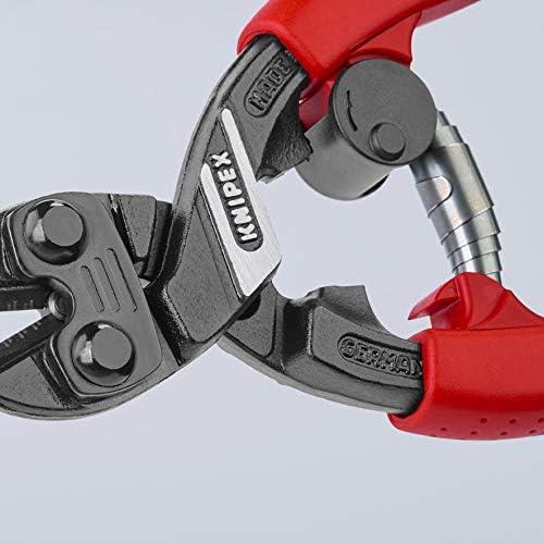 CoBolt High Leverage Compact Bolt Cutters W// Plastic Coated Handles Cutting Tool