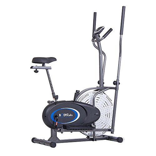 Body Rider 2-in-1 Cardio Dual Trainer Elliptical & Upright Bike