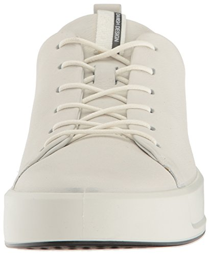Ecco 8 Soft Blanc Baskets Femme 1007white Ladies Basses r7rd5W6x