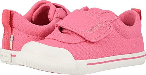 TOMS Kids Baby Girl's Doheny (Toddler/Little Kid) Bubblegum Pink Canvas 6 M US Toddler -