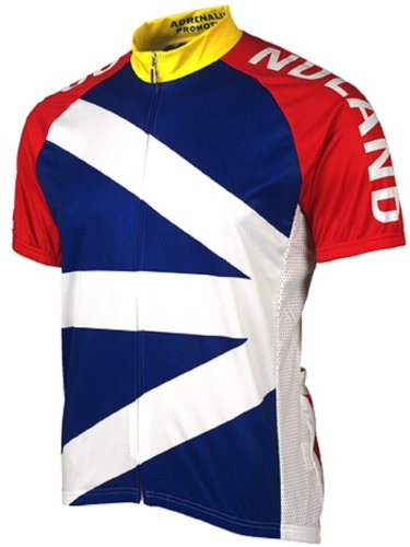 Adrenaline Promotions Canadian Provinces Newfoundland Cycling Jersey, Multi, -