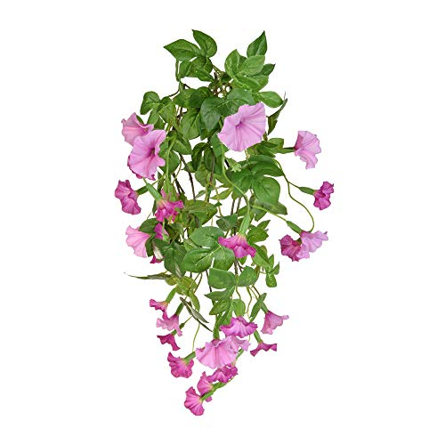 Floristrywarehouse Petunia Bush Artificial Silk Long Trailing 32 Inch Pink ()